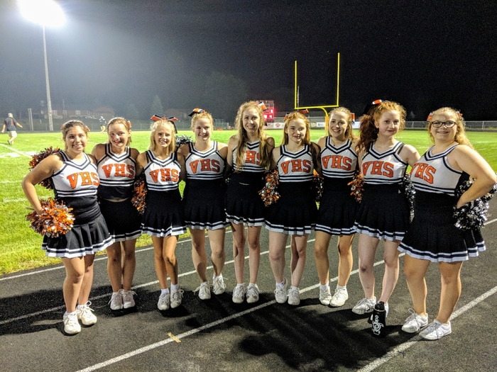 Blackhawk Cheerleaders!